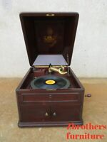 Antique Victor Talking Machine Table Top Record Player Phonograph VV-XI Nipper