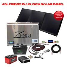 12V 45L Single Zone Fridge Freezer With 150W Ultralight Solar And Dual Battery