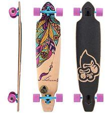 STAR-SKATEBOARDS® Longboard 75mm Downhill/Freeride Editi. ★ Dream Catcher Design