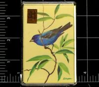 Playing Cards Bluebirds Singer made in Hong Kong Vintage Deck