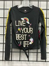 Girl's (size 5/6) top with screen print
