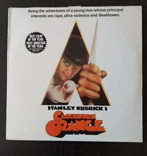 New listing Clockwork Orange Laser Disc