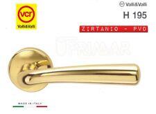 Maniglia porta Valli e Valli Orchidea H195 R8 Zirtanio Oro Valli & Colmbo VCR