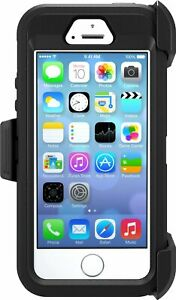 OtterBox 77-33322 Defender Series Case for iPhone 5, 5S and SE - Black