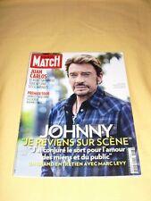 PARIS MATCH N°3283 avril 2012 Johnny Hallyday Juan Carlos