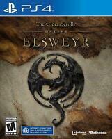The Elder Scrolls Online: Elsweyr Standard Edition-PlayStation 4 NEW