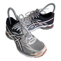 Asics Gel Flux 4 Womens Size 5 White Black Athletic Running Shoes Sneakers