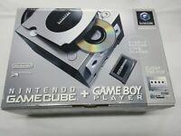 J179 Nintendo GameCube Console Silver Enjoy Plus pack Japan GC w/adapter player