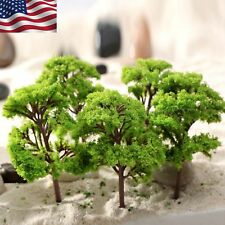 US STOCK 10pcs Banyan Trees Model Train Park Wargame Scenery Layout Diorama 12cm