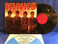 THE KINKS FIRST NPL 18096 MONO + PYE INNER ORIG UK LP NEAR MINT