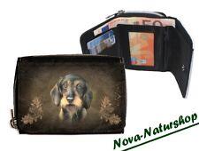 Geldbörse Dackel , Portmonnaie Dackel, Accessoire Hund , Brieftasche Tiermotiv