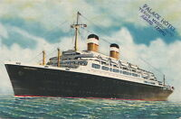 Postcard Ship SS Independence
