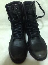 Diesel Leather Boots Basket Butch Zippy men's Back/rustic Brown.size 9USA