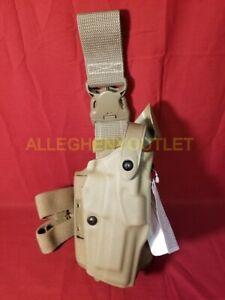 Safariland Model 6305-73 ALS/SLS Drop-Leg Holster w/ Quick Release Brown NEW