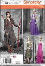 Sewing Pattern Simplicity 1010 Medieval Fantasy Cosplay Costumes GOT Elven LOTR