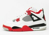"Nike Air Jordan Retro 4 ""Fire Red 2020"" DC7770-160 Size 3-14 Men & Kids"