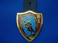 PORTUGAL MILITARY PARACHUTE PARATROOPS BI BAT. INSTRUCT. BREAST BADGE 49mm