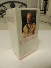 Pierre Elliott Trudeau - MEMOIRS - 3 VHS/Video Box Set - Signed BRAND NEW Sealed