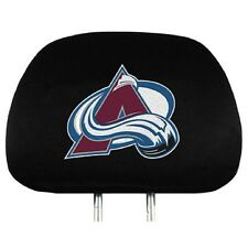 Colorado Avalanche Head Rest Covers 2 Pack [NEW] NHL Car Seat Headrest Truck