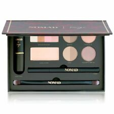 Nomad All-In-One Makeup Pallet (Lipstick, Eye, Brow Wax/Powders, Bronzer)