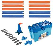 Hot Wheels FLK90 Track Builder Stunt Builder Super Multi Looping Box, mit c