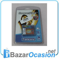Memoria Secure Digital 128 Trascendere MB Ultra Speed 80x Vintage