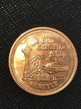 YE OLDE CURIOSITY SHOP SEATTLE, WASHINGTON  GOOD LUCK TOKEN