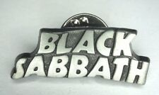 BLACK SABBATH Official 2007 Logo Shaped Metal Pin Badge Chrome(not patch shirt)