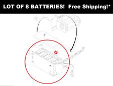 JLG 0400055 - LOT OF 8 - NEW JLG 6 Volt Deep Cycle 375AH Batteries