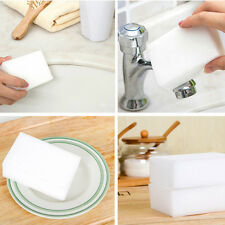 lOTS 10Pcs Magic Sponge Eraser Cleaning Melamine Foam Cleaner Kitchen Gadget
