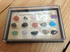 15 CRYSTAL 3D IDENTIFIER GEMSTONE MINERALS NEW AGE GIFT COLLECTABLES PAGAN