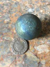 Saharan Titanium Aura Druzy 30mm Sphere, Reiki Healing Meditation, Crystal Ball