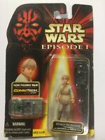 Star Wars Episode 1  Anakin Skywalker Tatooine Action Figure with CommTech Chip