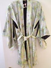 Victoria's Secret Designer Collection Fantasy Island Silk Kimono Robe! M/L NEW!
