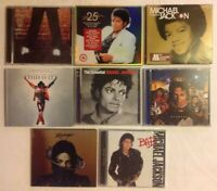 Michael Jackson 8xCD Collection Bad+Off The Wall+Michael & Motown Etc (3 Sealed)