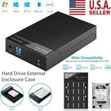"3.5 Hard Drive External Enclosure SATA to USB 3.0 HDD Docking Station 2.5"""