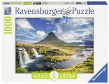 Nature Edition N°4: Wasserfall von Kirkjufell, Island Puzzle, 1000 Teile, Maße