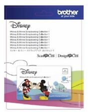 Brother ScanNCut Disney Mickey Mouse and Minnie Mouse Pattern Collection #1
