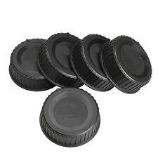 5x Rear Len Cap Cover for All Nikon AF AF-S DSLR SLR Camera LF-4 Lens Dust Black