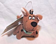 """NEW WITH TAGS  SCOOBY DOO 3.5 """" PLUSH CARTOON NETWORK KEYCHAIN CLIP"""