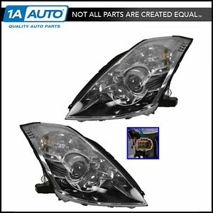 Xenon HID Headlight Lamp with Ballasts Set Pair LH & RH For 06-09 Nissan 350Z