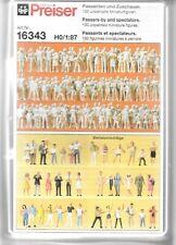 Preiser Passers-By & Modellini Spettatori Subbuteo, Personaggi IN Ho, 1/87, 130