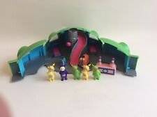Teletubbies Home Hill House Playset With Figures BBC 1996