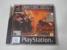 Martian Gothic (tipo resident evil nello spazio) PS1 Playstation completo