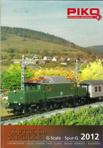 Piko Hauptkatalog 2012 für Spur G Gartenbahn