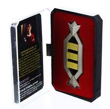 STAR TREK PIN (SPOCKS CAPTAIN RANK)