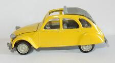 OLD NOREV JET CAR MADE IN FRANCE 1985 CITROEN 2CV 1974/1981 JAUNE 1/43 REF 720ND