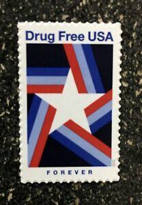 2020USA #5542 Forever Drug Free - Single   mint postage