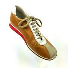 Miu Miu by Prada Tan Brown Leather Sneakers Shoes UK 5 US 6 Mens 8 wms Unisex