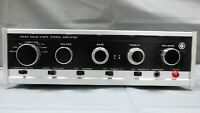 Nikko Solid State AMP Amplifier TRM 40 IC Vintage Knobs Japan Made Guaranteed